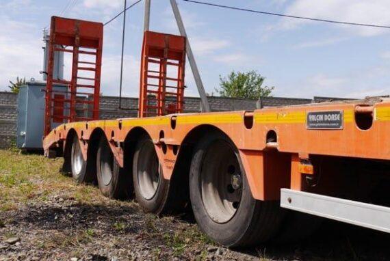 DORSE 4LBUz low loader trailer