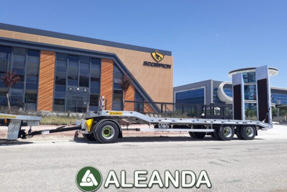 LOW LOADER SEMI-TRAILER SCORPION TRAILER 3 AXLE [NEW]