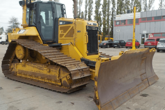 BULLDOZER CAT D6N LGP [6 947 h] [2012]