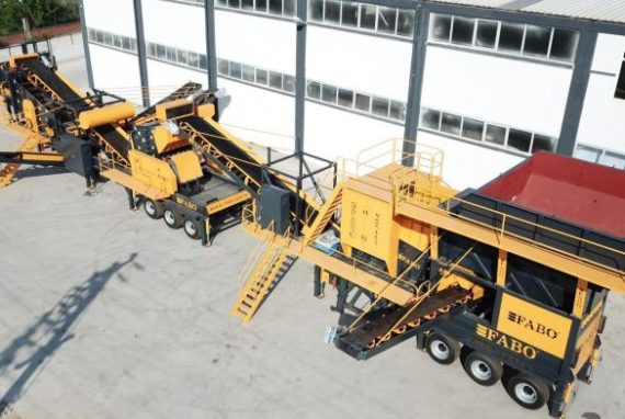 MOBILE CRUSHING AND SCREENING PLANT FABO MSC 110 (NEW) [2019]