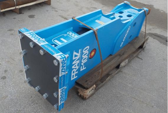 FRANZ F 1000 hydraulic breaker