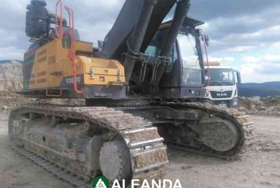 Crawler Excavator Volvo EC 750 El [5 600 h] [2018]