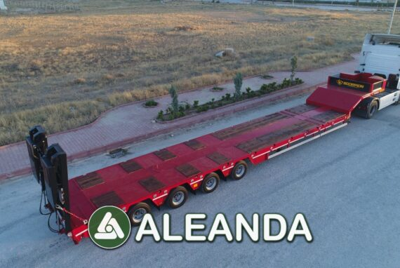LOWBED SEMI-TRAILER SCORPION 4-AXLE [NEW]