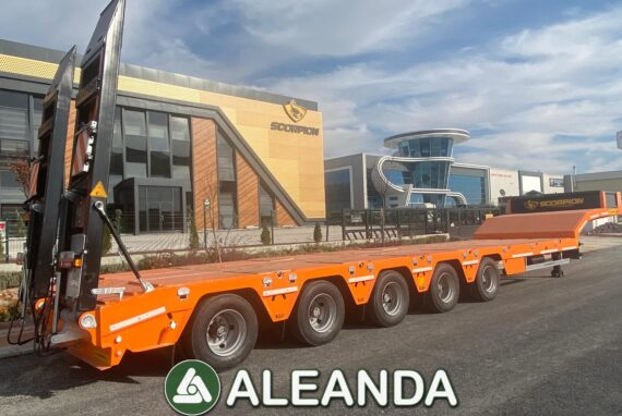 LOWBED SEMI-TRAILER SCORPION 5-AXLE [NEW]