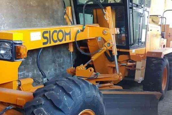 Автогрейдер SICOM IM80-IDRO [300 мч] [2006]