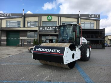 HIDROMEK HMK 130 CS – new soil compactor