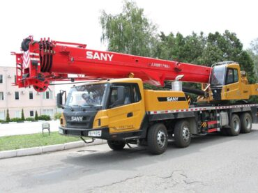 SANY – Truck crane from China