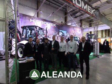 ALEANDA at the 18th AUTODOREXPO forum