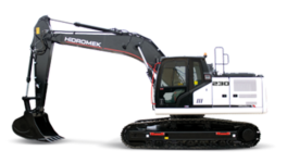 hidromek-track-excavator-category
