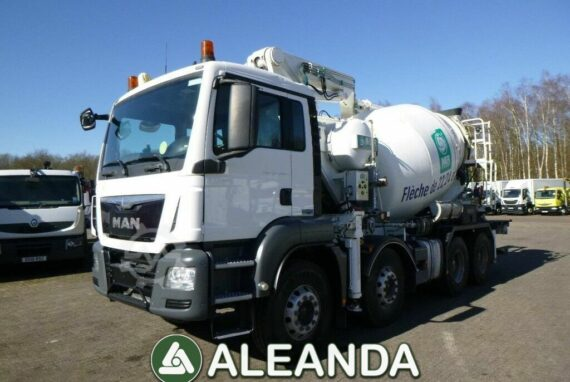 CONCRETE MIXER MAN TGS 35.400 [86 650 km] [2015]
