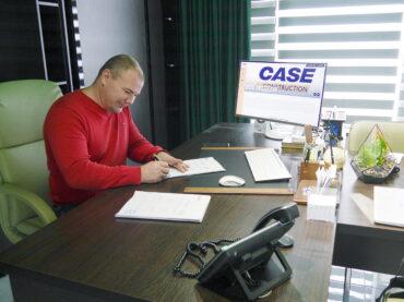 Вітайте CASE Construction в Україні!