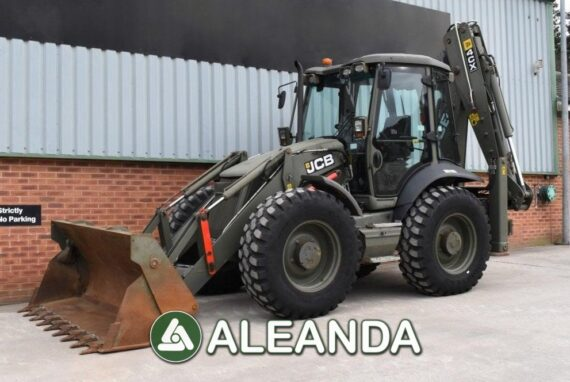 BACKHOE LOADER JCB 4CX [1 051 h] [2011]